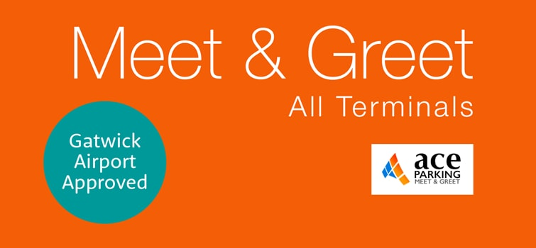 Meet and greet parking gatwick cheapest gatwick services ace meet and greet m4hsunfo