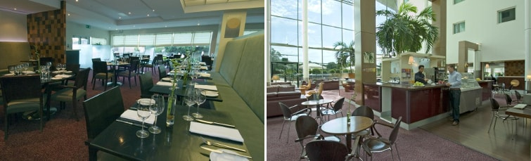 Dining at Arora Hotel Gatwick
