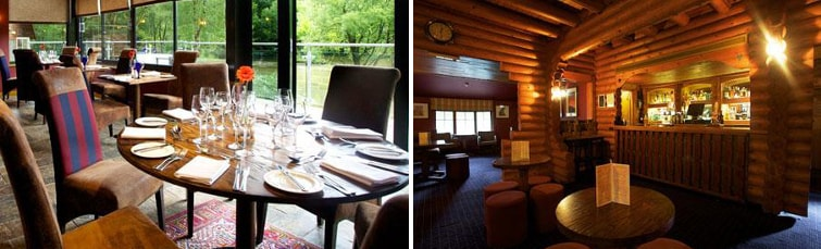 Dining at the Chevin Country Park Hotel