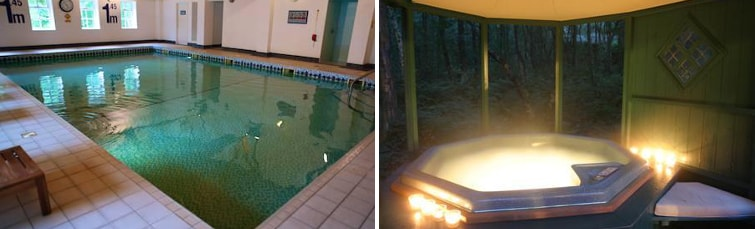 Pool at the Chevin Country Park Hotel