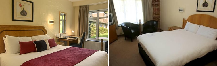 Rooms at the Copthorne Hotel Gatwick
