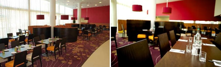 Dining at the Courtyard Marriott Gatwick
