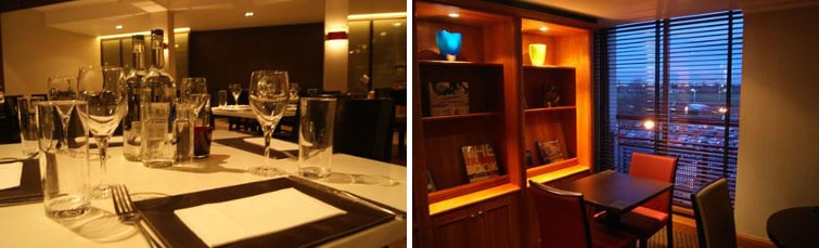 Dining at the Crowne Plaza Heathrow