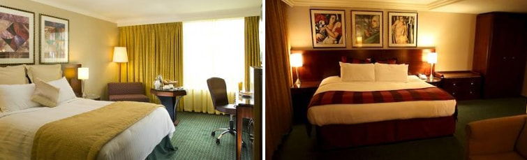 Rooms at the Crowne Plaza Liverpool Airport
