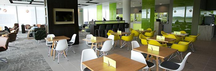The Escape Lounge at Manchester Terminal 3