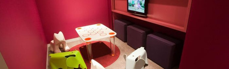 Escape Lounge at Manchester Airport Terminal 1 Playroom
