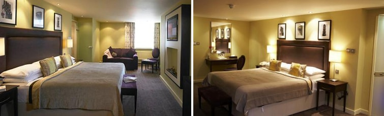 Rooms at the Hallmark Hotel Manchester Airport