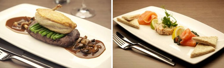 Meals at the Hilton Edinburgh Airport