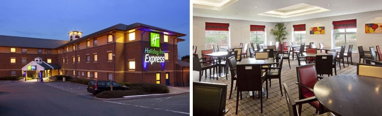 Holiday Inn Express J5 M29 at Exeter Airport