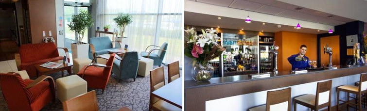 Dining at the Holiday Inn Express Liverpool Airport