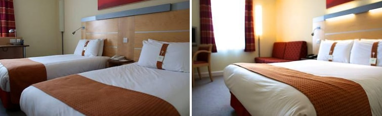 Rooms at the Holiday Inn Express Liverpool Airport