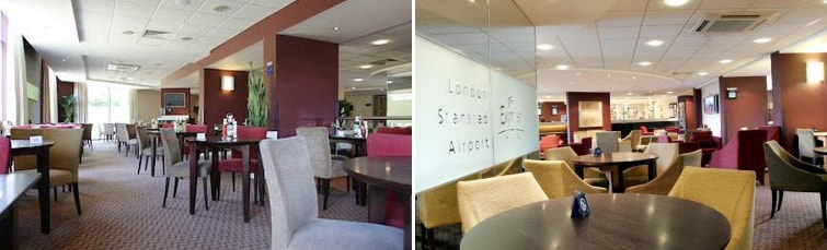 Dining at the Holiday Inn Express Stansted