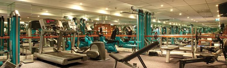 Gym at the Holiday Inn Heathrow Terminal 5