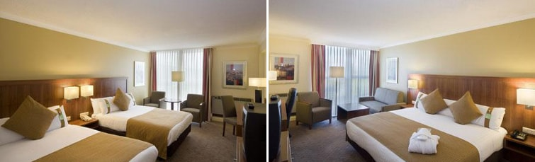 Rooms at the Holiday Inn Newcastle Airport