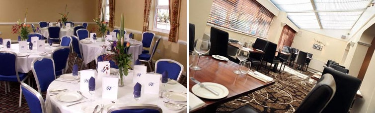 Restaurant at the Kegworth Hotel