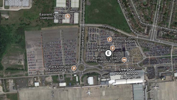 Liverpool Airport Drop Off Pick Up