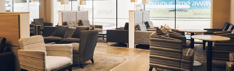 The Aspire Lounge at Luton Airport