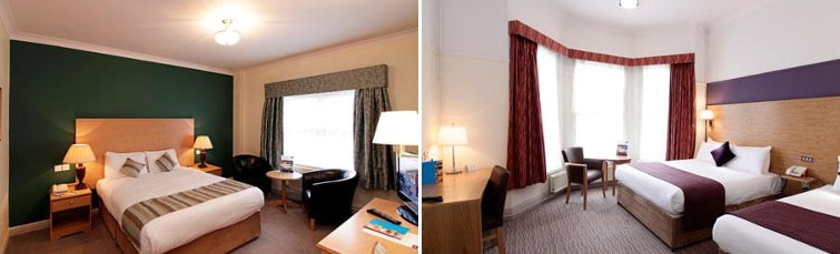 Rooms at the Mercure Bowdon Manchester