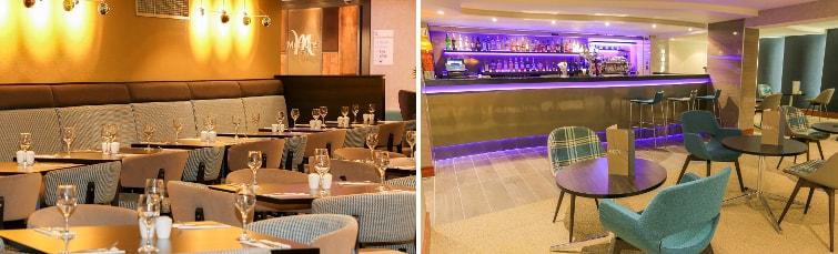 Dining at the Mercure Hotel Heathrow