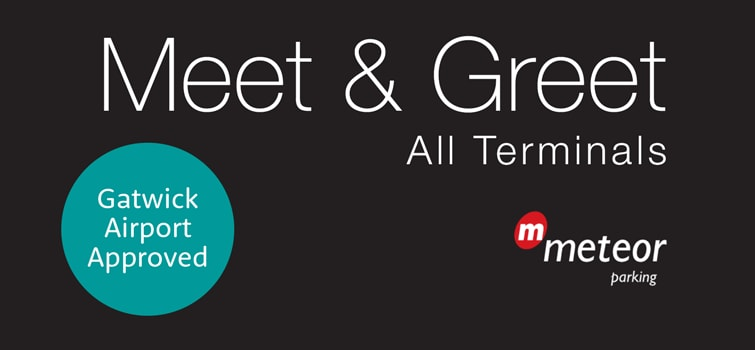 Meet and greet parking gatwick cheapest gatwick services meteor meet and greet m4hsunfo