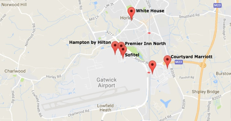 Gatwick Hotel And Parking North Terminal