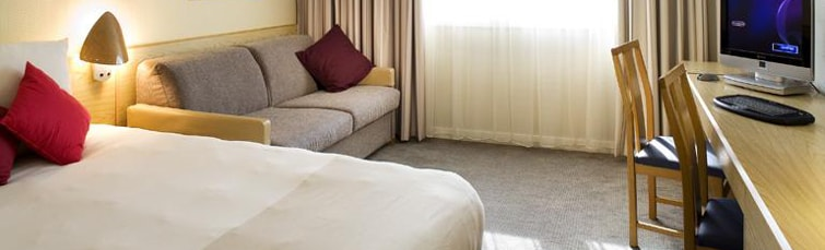 Room at the Novotel Birmingham Airport