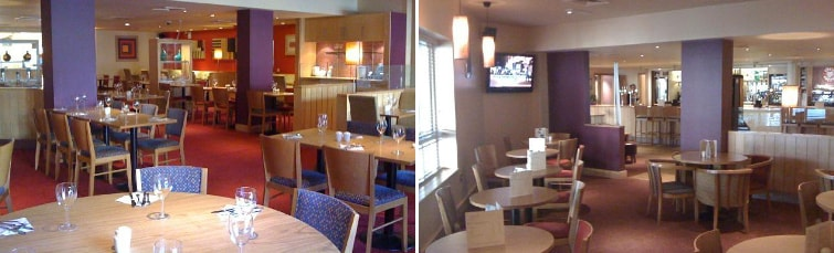 Dining at the Premier Inn Birmingham Airport