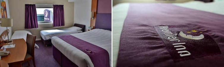 Room at the Premier Inn Liverpool Airport