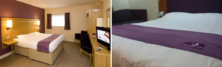 Rooms at the Premier Inn South Manchester Airport