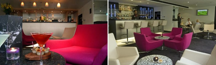 Bar at the Sofitel Gatwick