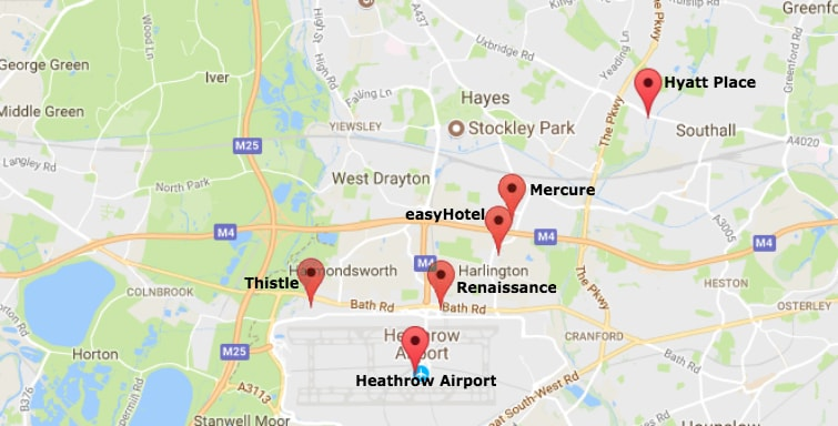 The Top 3 Nearest Heathrow Terminal 2 Hotels From 32 per night