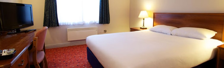 Room at the Travelodge Newcastle Airport
