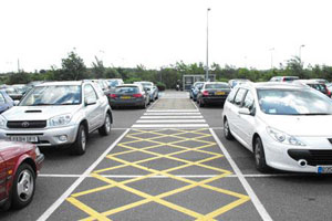 Stansted car park