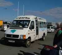 airparks transfer bus