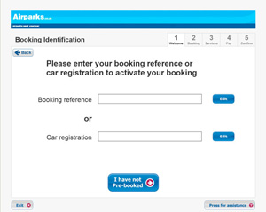 Enter your booking reference