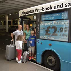 Airparks Gatwick Bus