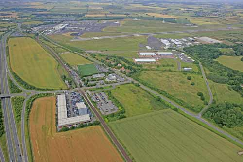Newcastle Airparks Aerial View