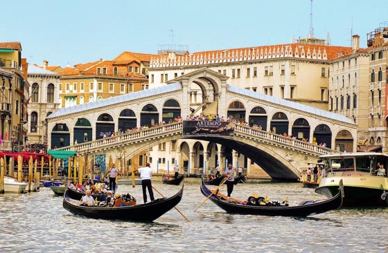 Rialto bridge, Venice. Used under creative commons licence from Liamnudds