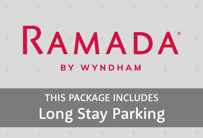 Ramada with parking at Long Stay logo