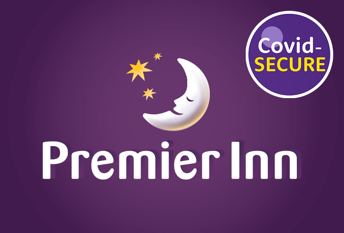 Premier Inn with parking at the hotel logo