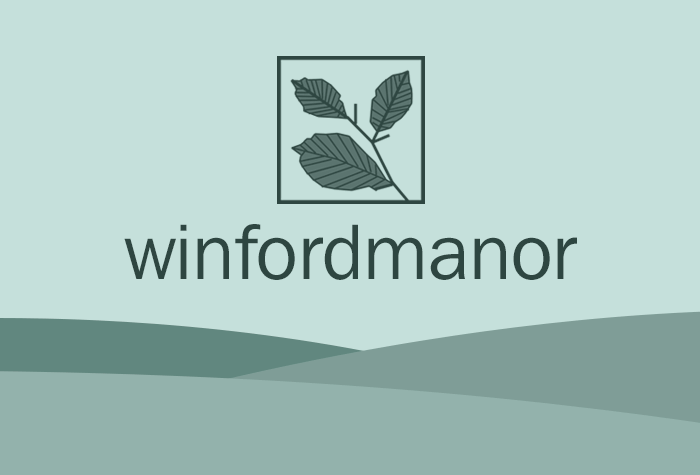 Winford Manor with breakfast logo